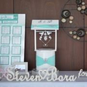 medium tiffany blue wishing well