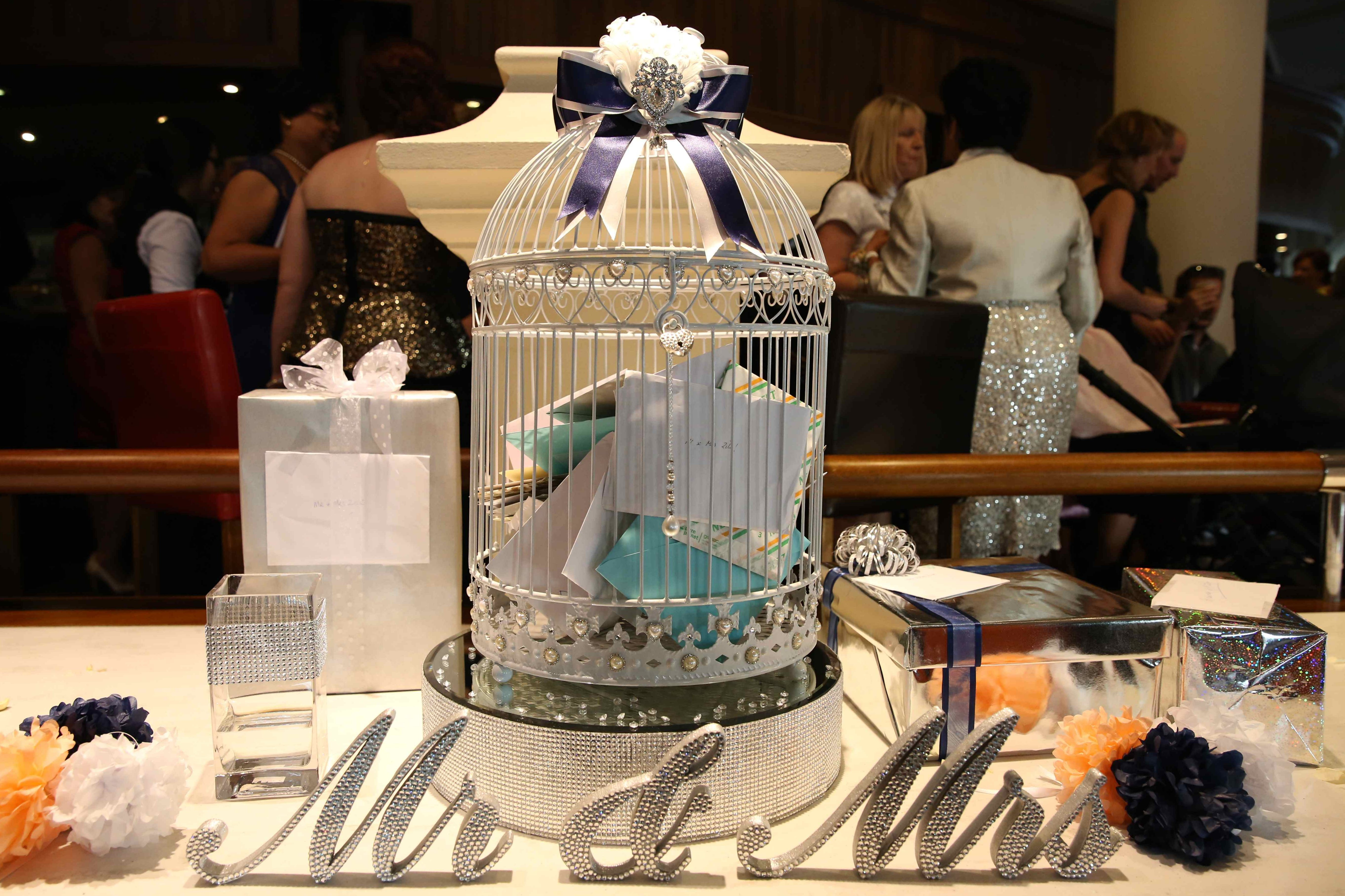 Wedding Birdcage Card Holder Perth Wish Upon A Well