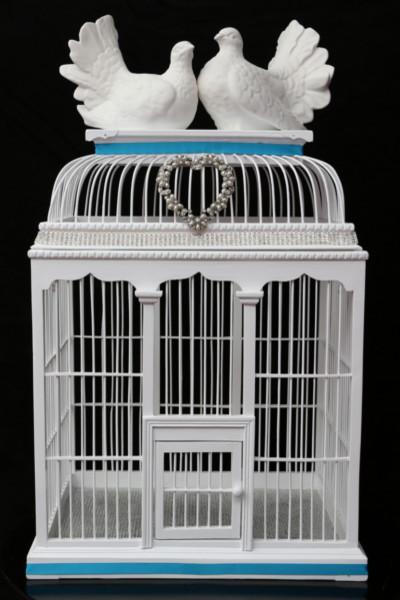 Large Birdcage Cardholder