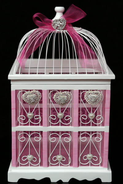 Small Birdcage Cardholder