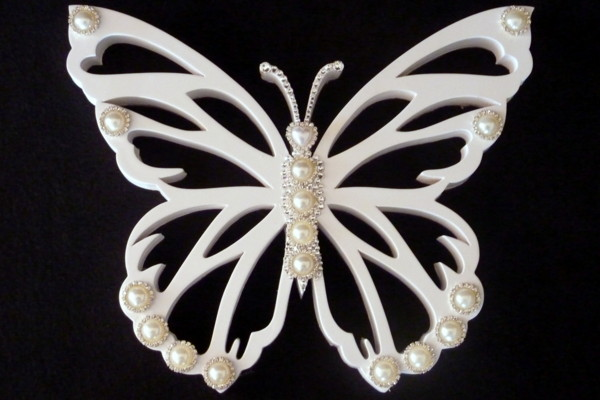 White Butterfly - Gift Table Decoration
