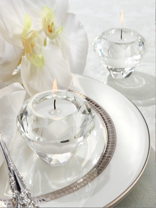 crystal tea light